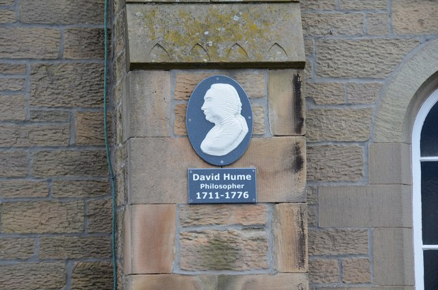 Plaque to David Hume, Chirnside
