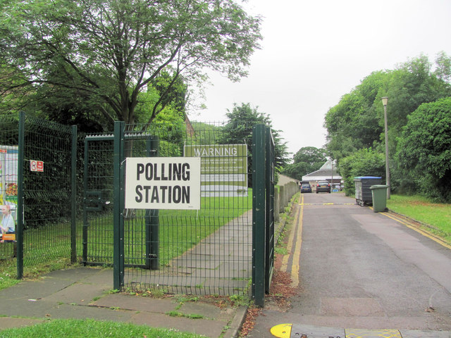 The Frogmore Street Polling Station on Referendum Day