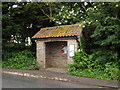 TL9578 : Bus Shelter on Rushford Road by Adrian Cable