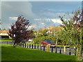 SE2134 : Cote Lane on a windy day by Schlosser67