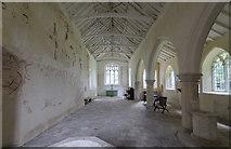 TG1120 : Interior, St Faith's church, Little Witchingham by Julian P Guffogg