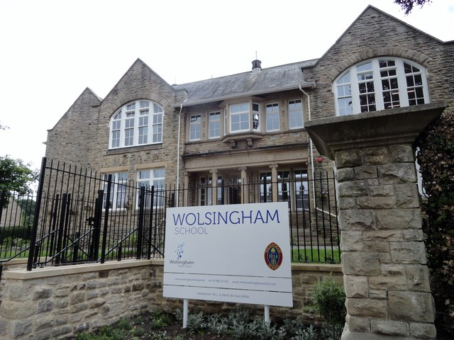 Front of Wolsingham School