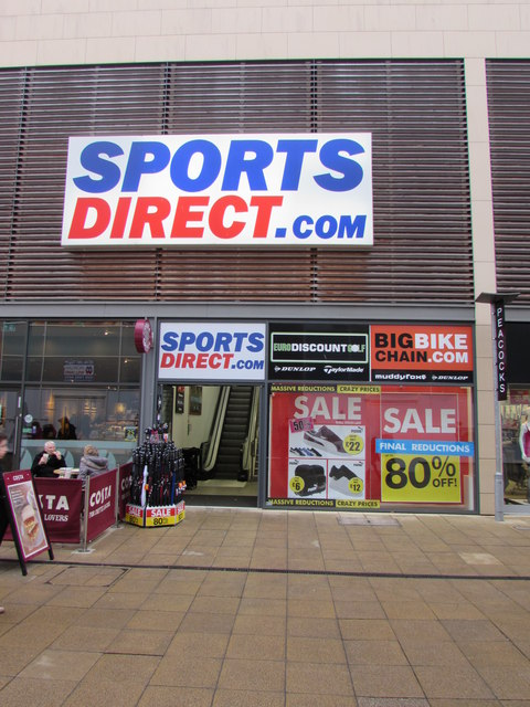 Sports Direct in Yate Shopping Centre