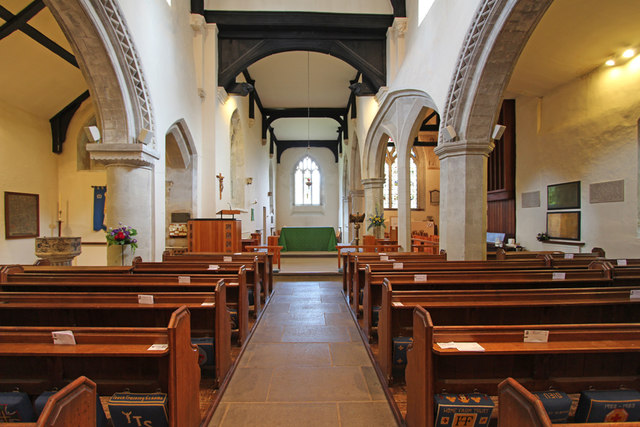 St Lawrence, Abbots Langley - East end