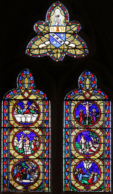 St Lawrence, Abbots Langley - Stained glass window
