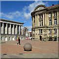 SP0686 : A June morning in Victoria Square by John Sutton