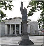 J0407 : The Maid of Erin Statue, Market Square, Dundalk by Eric Jones