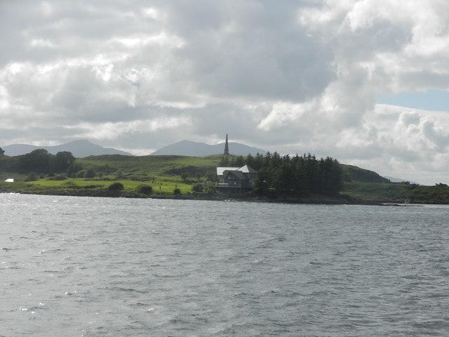 View over Ardantrive Bay to Kerrera