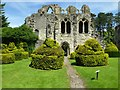 SJ6200 : The ruins of St Michael's Chapel by Philip Halling