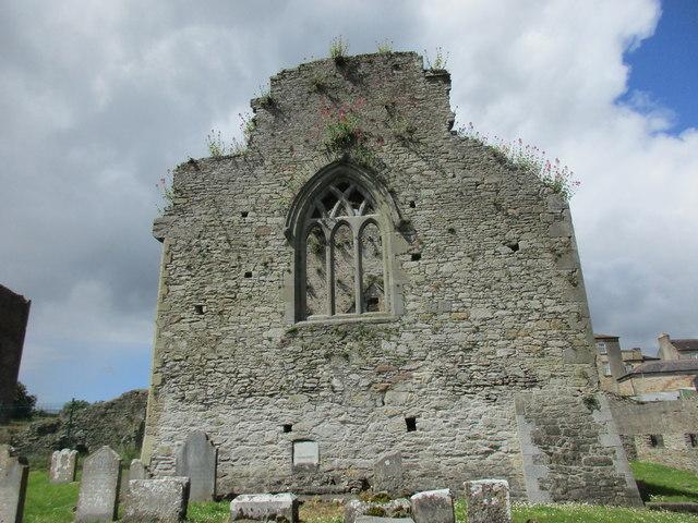 East end, Cahir Abbey