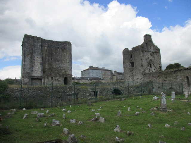 The two towers, Cahir Abbey