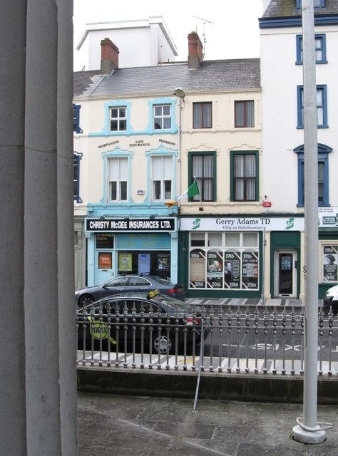Oifig an Gearóid Mac Ádhaimh TD/ Office of Gerry Adams TD