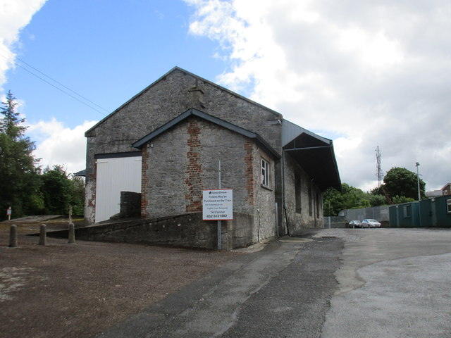 Cahir station, goods shed
