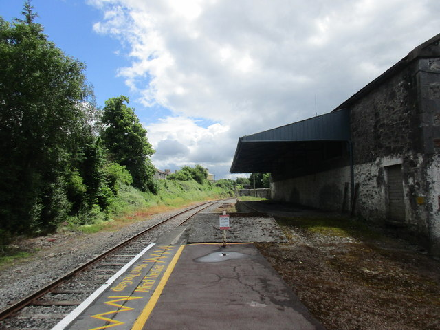 Cahir station, looking in the direction of Clonmel