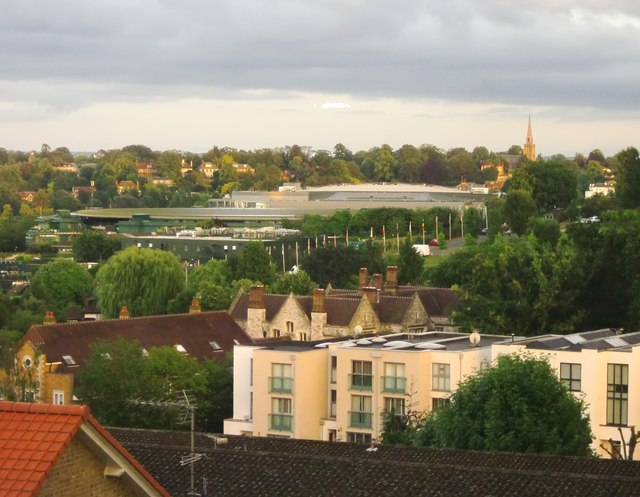 View from Glenalbyn Road, Wimbledon, June 2016