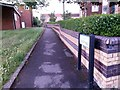 SZ0695 : West Howe: footpath U43 is called Youth Walk by Chris Downer