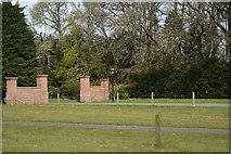 NN9357 : Perth and Kinross : Port-na-Craig House Entrance by Lewis Clarke