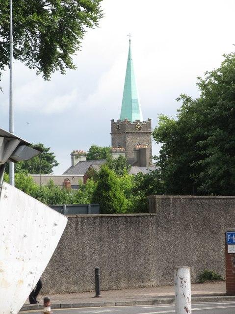 The spire of St Nicholas Church, Dundalk