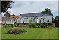 TL2696 : Garden in Whittlesey by Anne Burgess