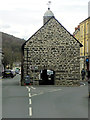 SN9584 : Llanidloes, The Old Market Hall by David Dixon