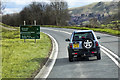 SN9179 : Southbound A470 near to Llangurig by David Dixon