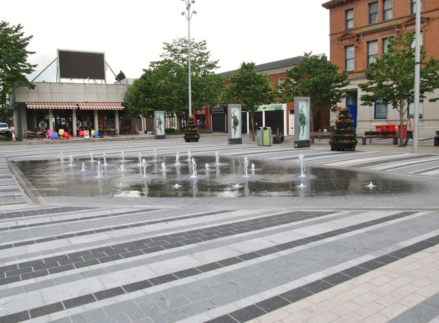 Fountains on Market Square, Dundalk