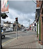 J0407 : View south-west along Park Street, Dundalk by Eric Jones