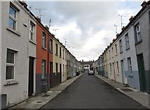 J0407 : Terraced housing in Williamsons Place, Dundalk by Eric Jones