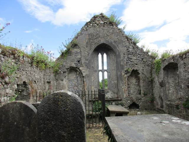 The old church, Cahir - east end