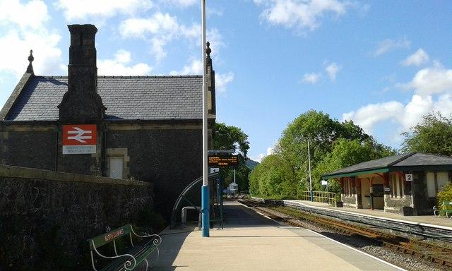 North Llanrwst station