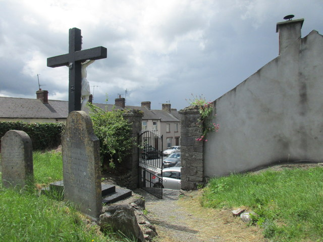 The graveyard of the old church, Cahir