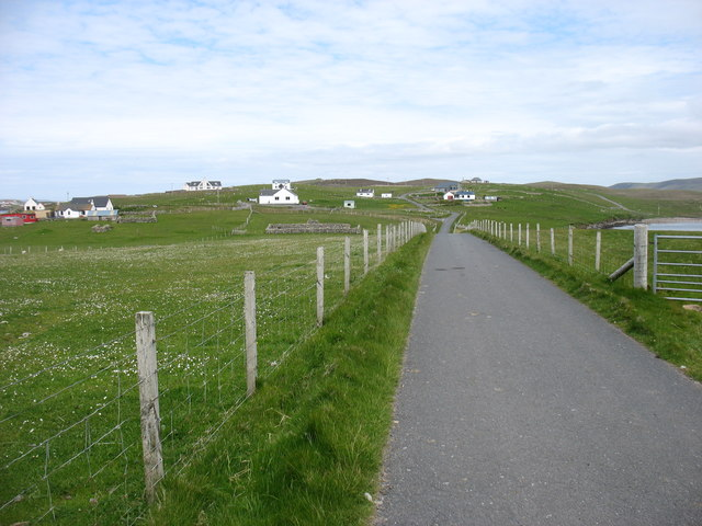 The lane from Houss
