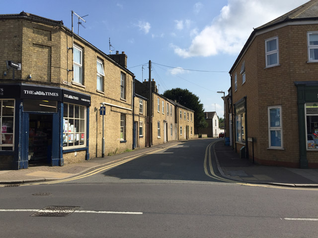 South on St Mary's Street, Whittlesey