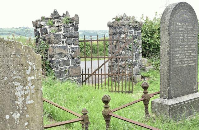 Ballykeel graveyard, Islandmagee (June 2016)