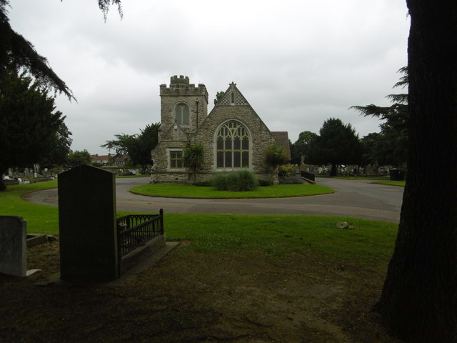 The chapel in Rippleside Cemetery
