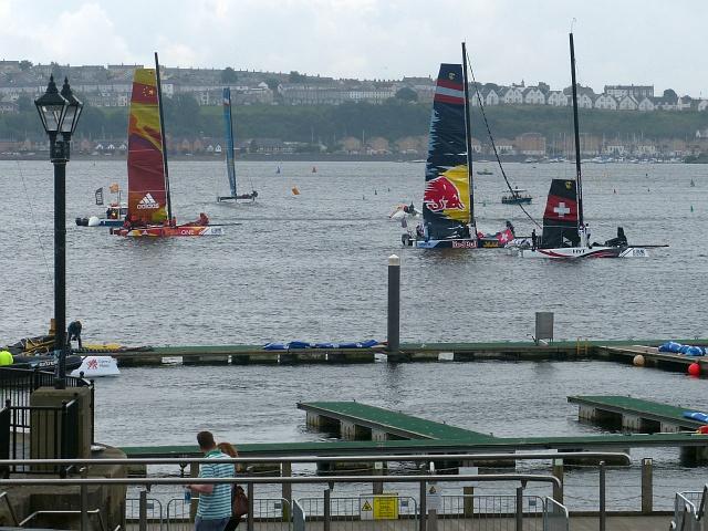 Extreme sailing 2016 (2), Cardiff Bay