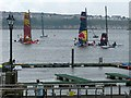 ST1974 : Extreme sailing 2016 (2), Cardiff Bay by Robin Drayton
