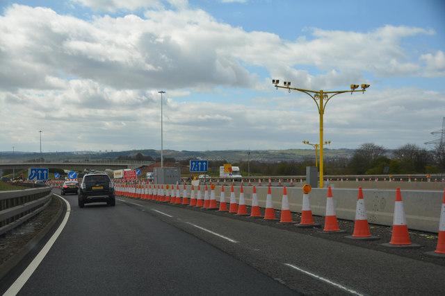 Glasgow City : The M73 Motorway