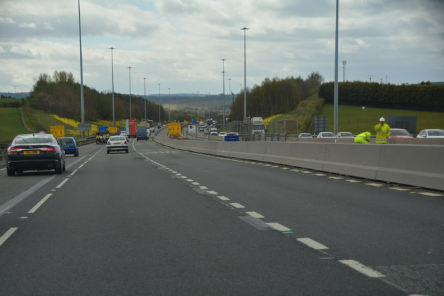 Glasgow City : The M73 Motorway