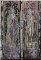 TG0719 : Painted panel, St Mary's church, Sparham by J.Hannan-Briggs