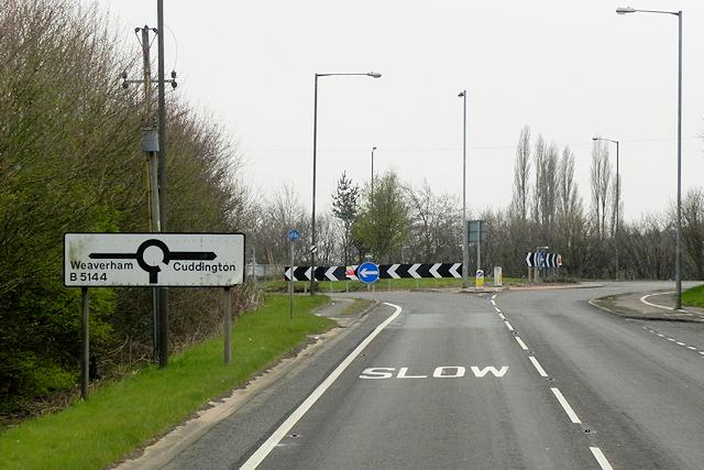 A49, Weaverham Roundabout