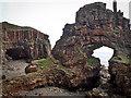 NM4918 : Carsaig Arches by Mick Garratt