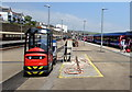 SW4730 : Linde P60 vehicle on Penzance railway station by Jaggery