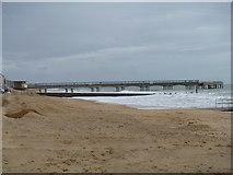 SZ1191 : Boscombe Pier by Michael Dibb
