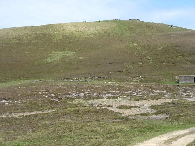 Looking to Ward Hill, Fair Isle