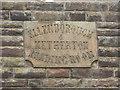 NY0435 : Inscribed stone, Ellenborough Social Club by Graham Robson