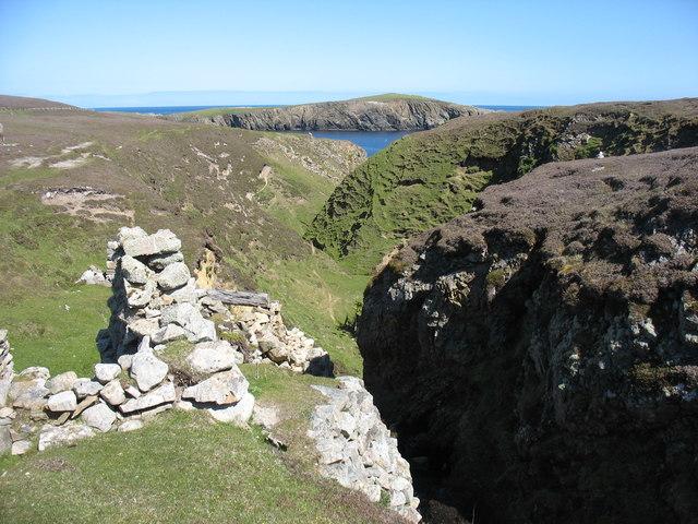 The gorge of Gilsetter Burn