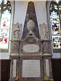 TL1998 : St John the Baptist, Peterborough: memorial (iv) by Basher Eyre