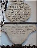 TL1998 : St John the Baptist, Peterborough: memorials (xi) by Basher Eyre