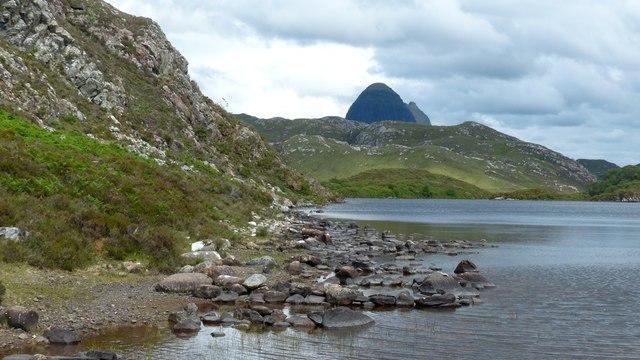 Loch Bad na Muirichinn, Assynt